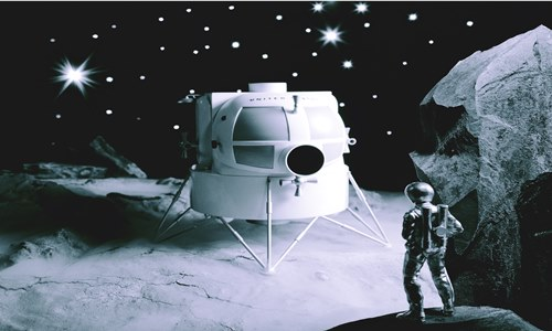 lockheed martin humongous lunar lander concept