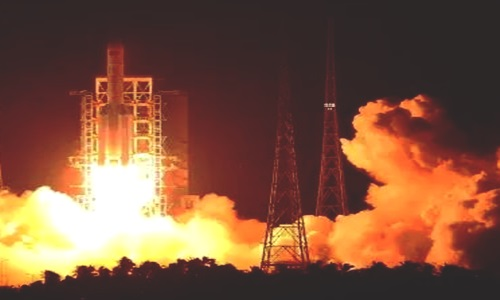 China launches two new BeiDou navigation satellites into space