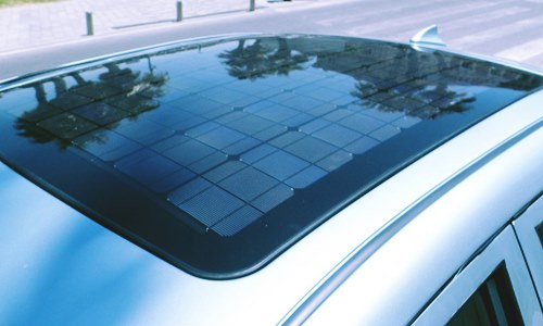 hyundai-kia-develop solar vehicle roof generate energy evs
